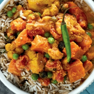 Slow Cooker Navratan Korma for Two.