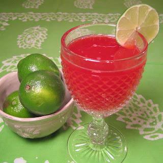 Snappy Raspberry Lime Rickey