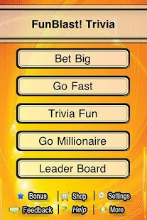 FunBlast! Trivia Quiz Lite - screenshot thumbnail