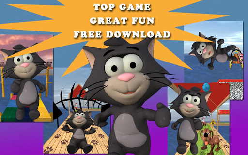 玩娛樂App|微小的貓運行:運行遊戲的樂趣免費|APP試玩