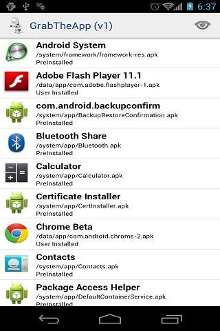 GrabTheApp- screenshot