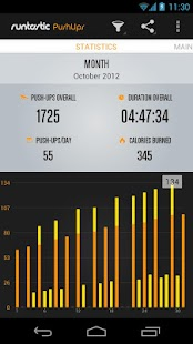 Runtastic Push-Ups Trainer- screenshot thumbnail