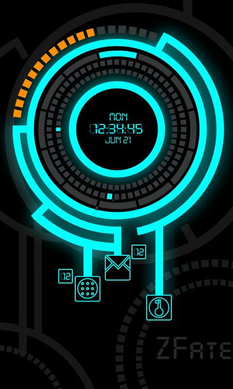 Zfatewheel Locker Theme - screenshot