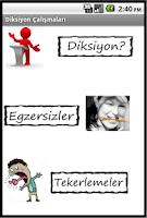 Screenshot of Diksiyon Çalışmaları