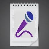 Speech to text converter.