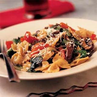 Warm Bow-Tie Pasta Salad.