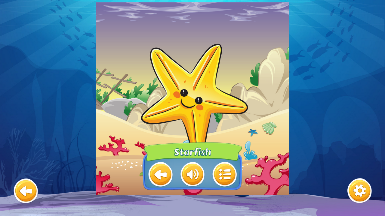 Kids Ocean Jigsaw Puzzles- screenshot