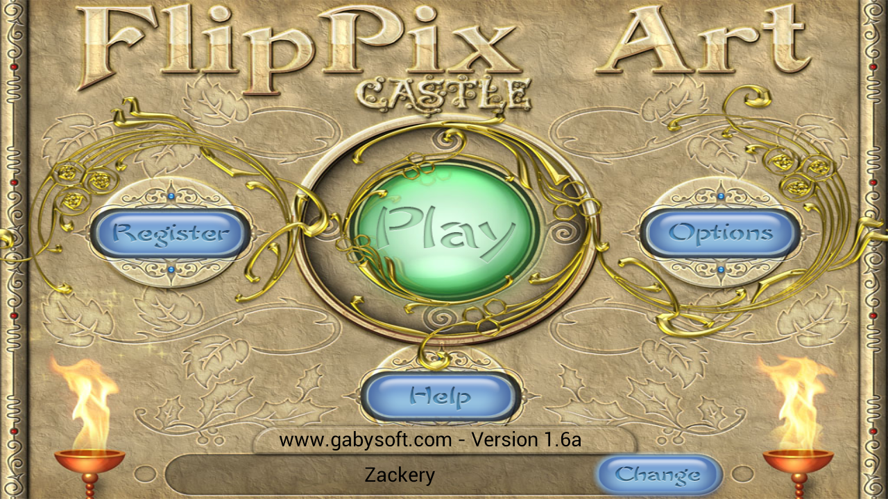 FlipPix Art - Castle- screenshot