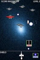 Screenshot of Space defender.