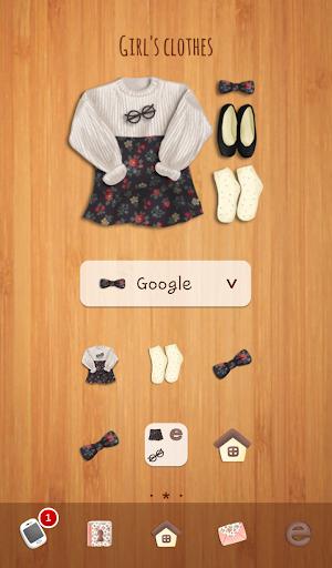 girls clothes 도돌런처 테마