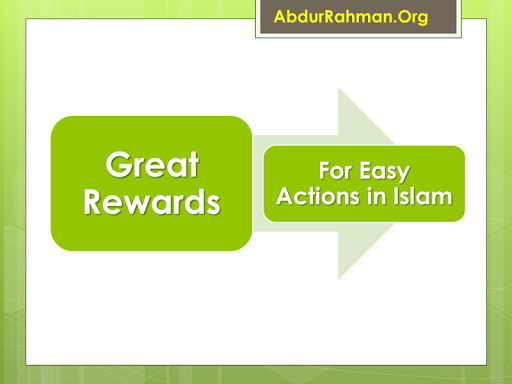 Great Rewards in Islam