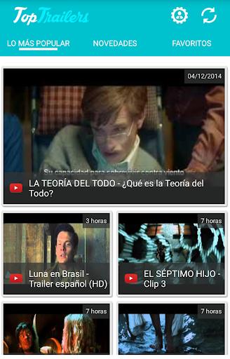 Top Trailers: películas cine