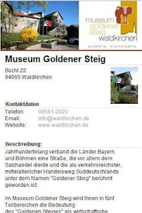 Museum goldener Steig- screenshot thumbnail