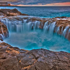blue hole by Miodrag Gran Bata Radosavljevic - Landscapes Waterscapes