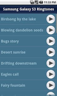 Samsung Galaxy S3 Ringtones - screenshot thumbnail