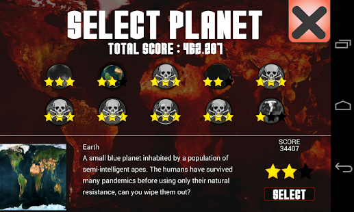 Universe Pandemic- screenshot thumbnail