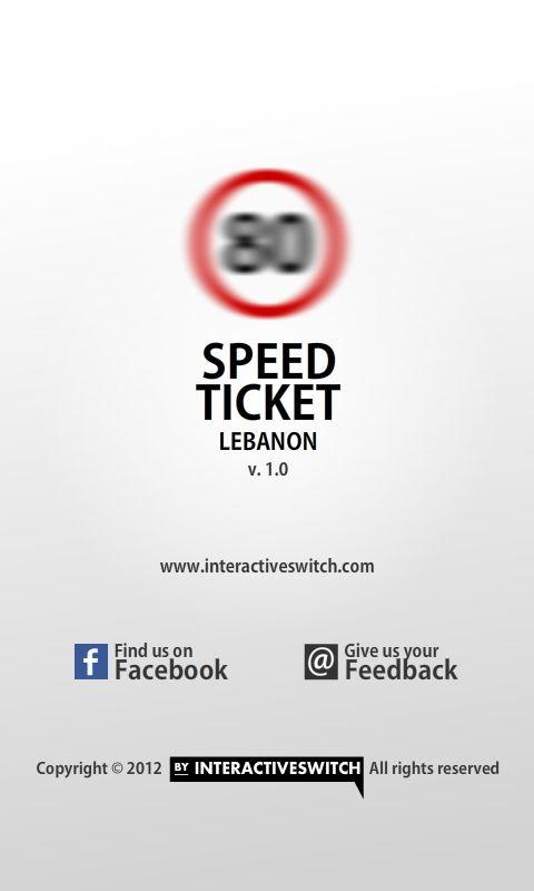 Speed Ticket Lebanon - screenshot