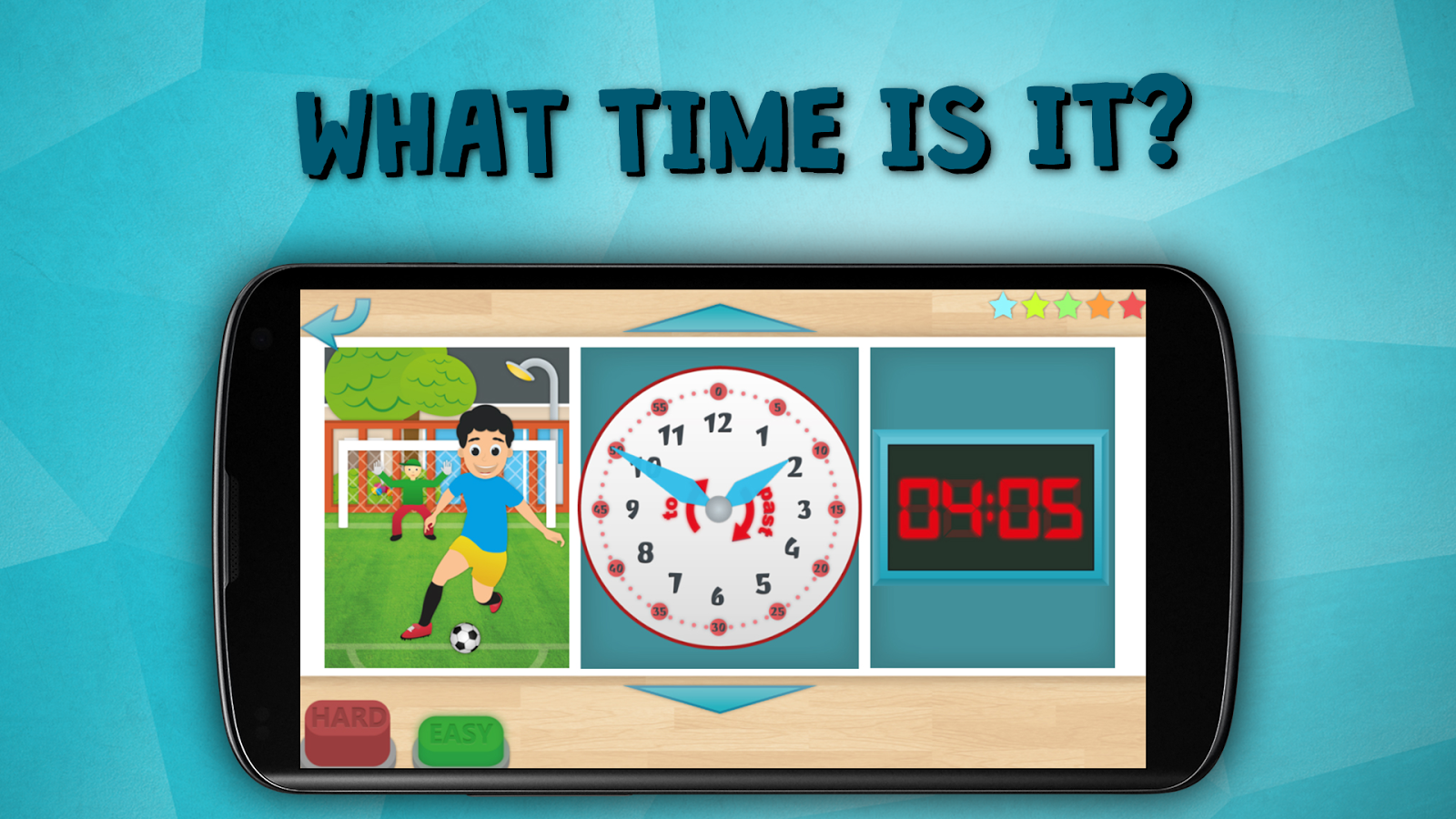 Kids learn to tell time free- screenshot
