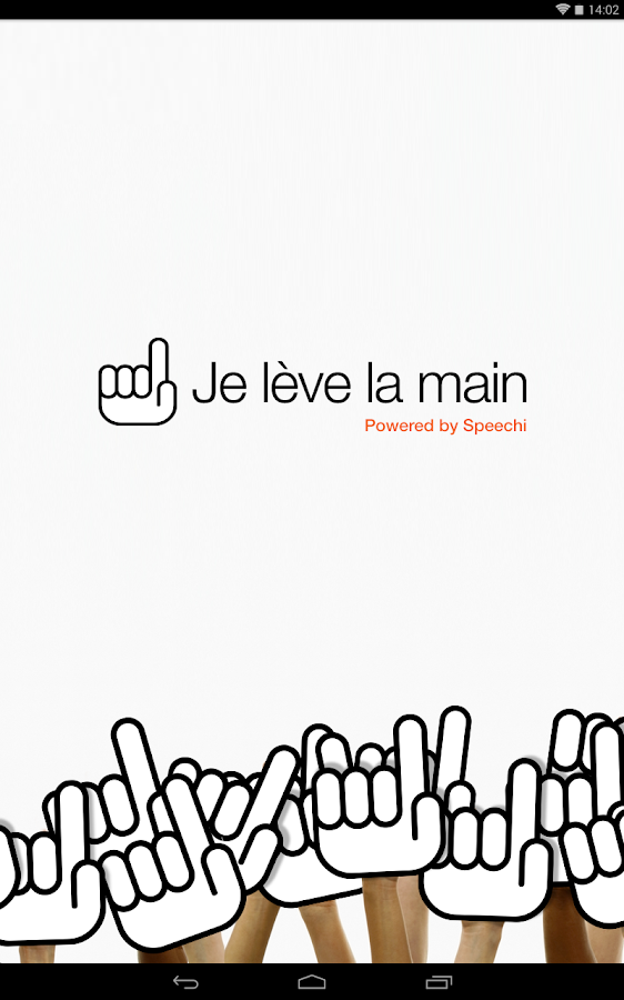 Je Lève La Main – Capture d'écran