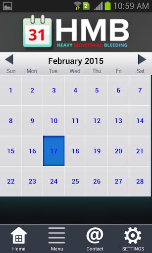 HMB kalender PBAC