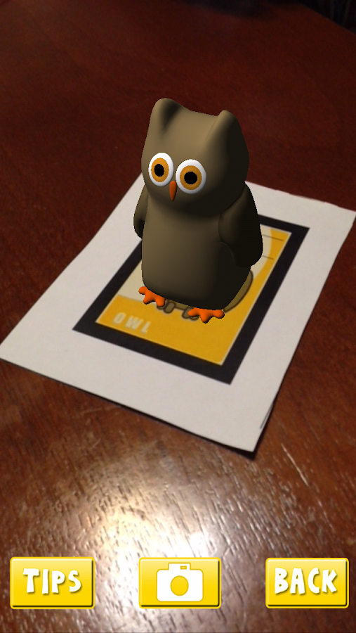 AR Flashcards- screenshot