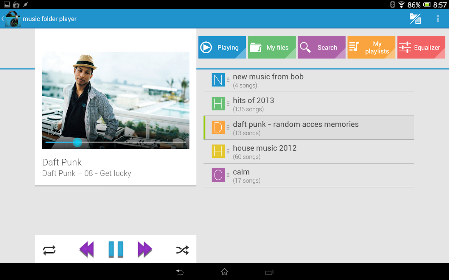 Music Folder Player (original) - screenshot
