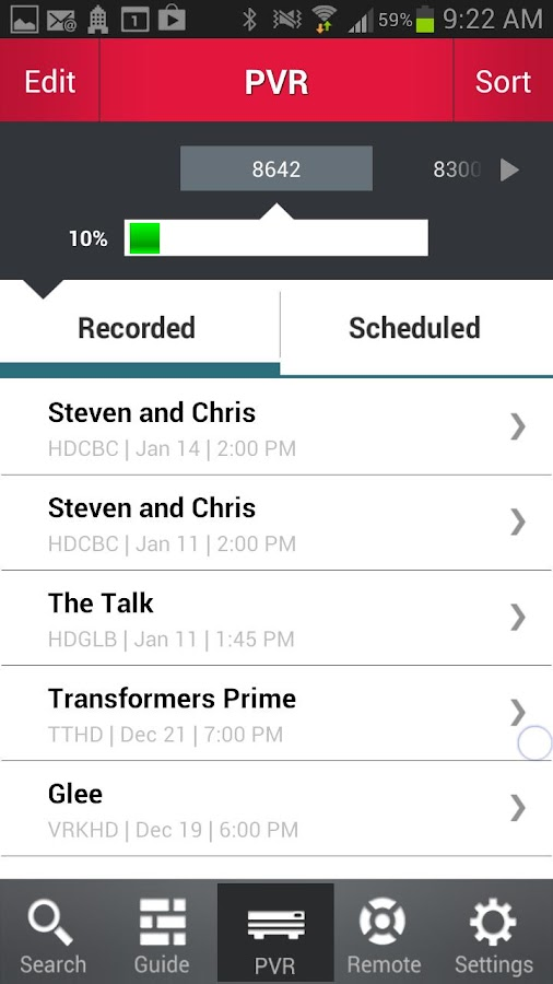 Anyplace TV Home Mobile (ON)- screenshot