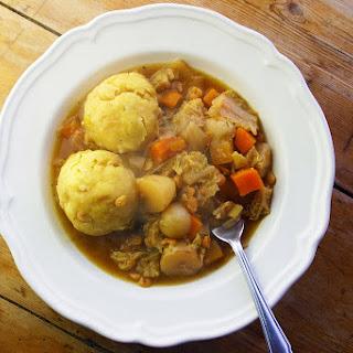Vegetable Stew And Dumplings Crock Pot Recipes.