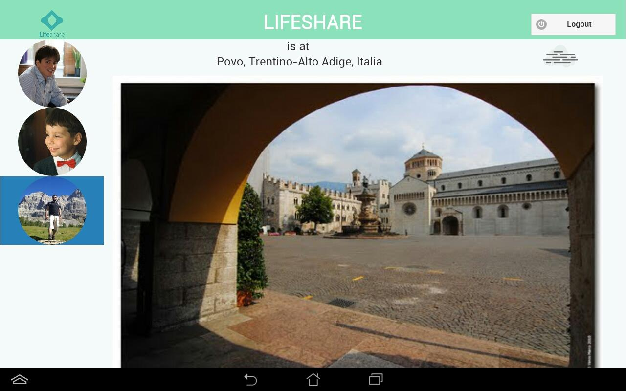 Lifeshare Tablet- screenshot