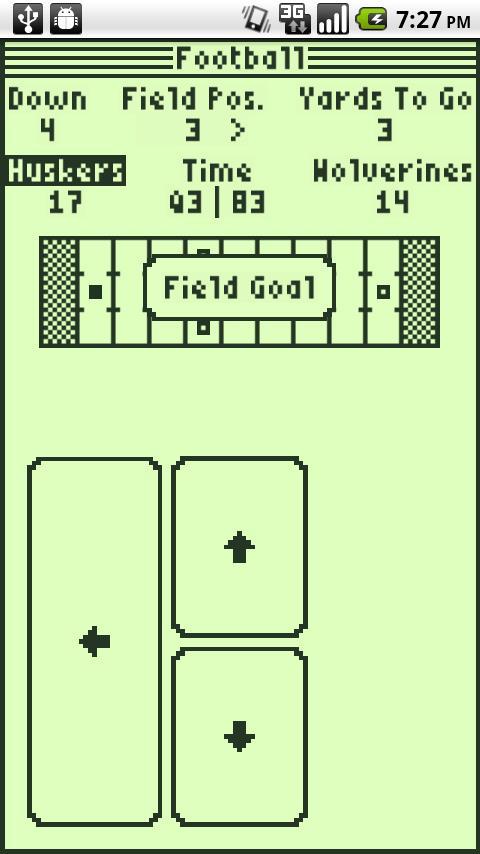 Football- screenshot
