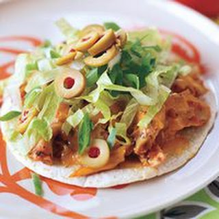 Giant Chicken Taco Nachos.