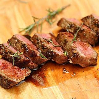 Rosemary Garlic Butter Steaks.