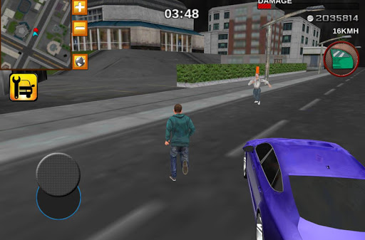 Crime race car drivers 3D