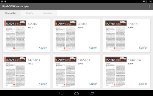 【免費新聞App】PLATOW Börse - epaper-APP點子