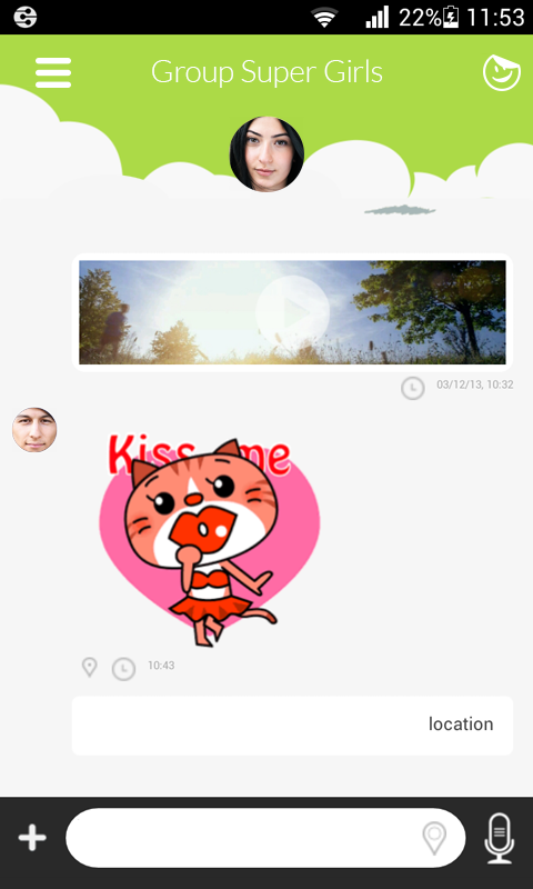 Jongla - Instant Messenger - screenshot