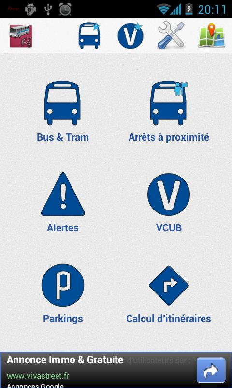 Transports Bordeaux- screenshot