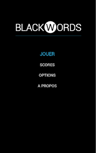 BlackWords - screenshot thumbnail