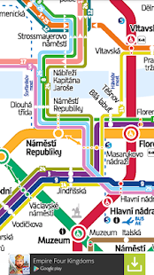 Prague Public Transport - náhled