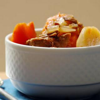 Alison's Slow Cooker Vegetable Beef Soup.