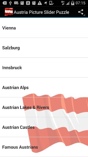 Austria Picture Puzzles