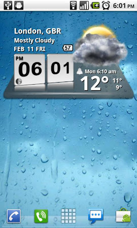 3D Digital Weather Clock 4.2.4 screenshot 940