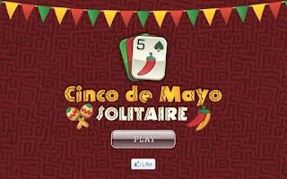 Screenshot of Cinco de Mayo Solitaire