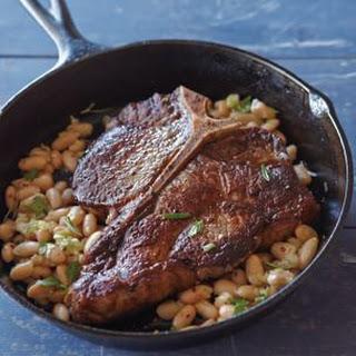 Pan-Roasted Porterhouse Steak