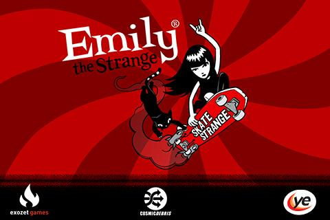 Emily the Strange- screenshot