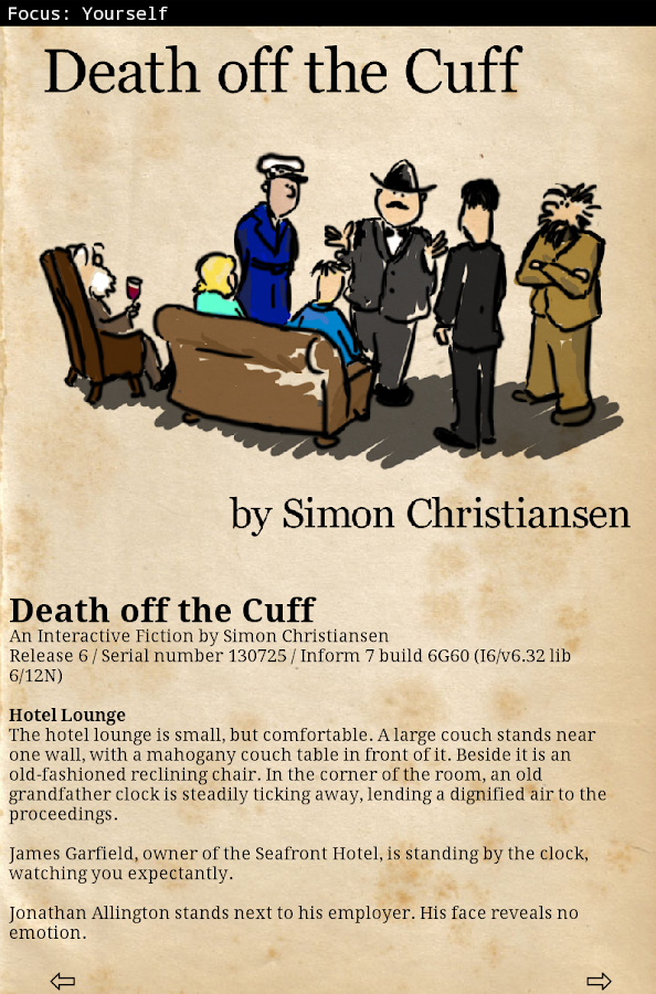 Death off the Cuff - screenshot
