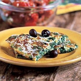 Swiss Chard Omelette (La Trouchia)