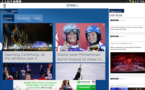 NBC Olympics Highlights- screenshot thumbnail