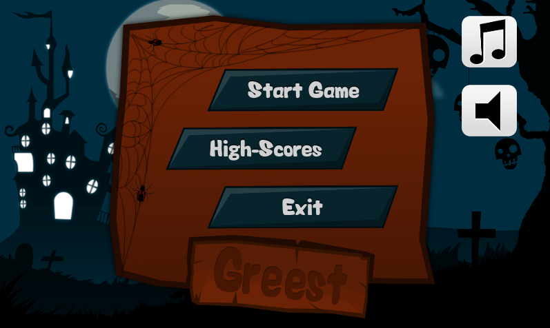 Greest: The Halloween Ghost- screenshot