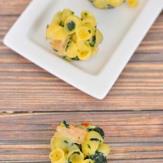 Turkey, Spinach and Macaroni Bites