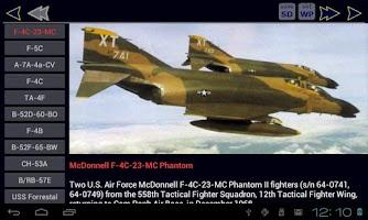 Screenshot of Vietnam War Aircraft Free